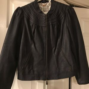 🌹Doma Black Leather Jacket